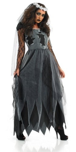 alloween Female Fancy Dress Costume - L (UK 16-18) ()