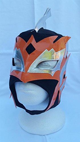 SCHWARZ - Lucha Dragons KALISTO Kinder Wrestling Masken [GUEST WRESTLING EXCLUSIVE]