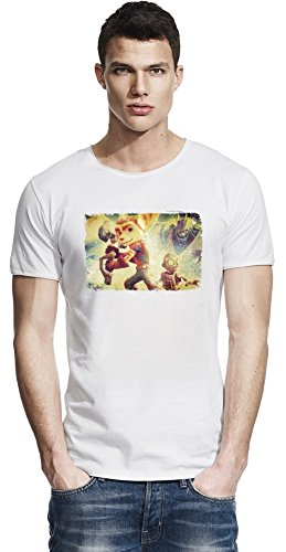 Ratchet & Clank Friends Raw Edge-T-Shirt X-Large
