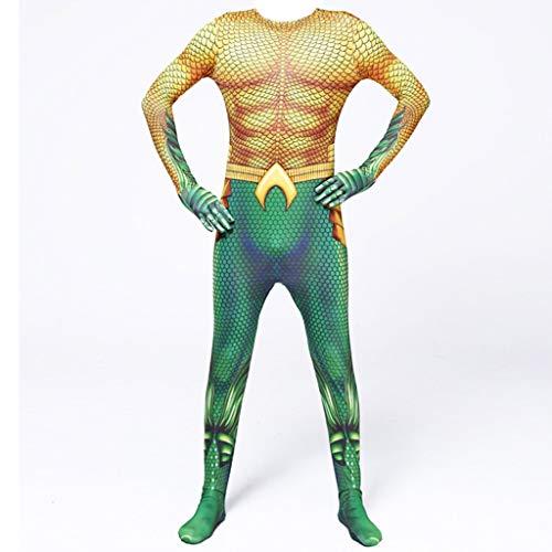 YEGEYA Cosplay Kostüm Sea Man Movie Game Charakter Elastische Strumpfhosen Erwachsene Kinder Party Requisiten (Color : Picture, Size : - Astrid Kostüm Muster