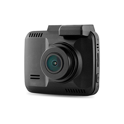 WINOMO Ultra HD 2160P Weitwinkelobjektiv Wifi 2,4 Zoll Mini Auto Camcorder Auto DVR mit integriertem GPS (schwarz) (Automatische Sperre Wifi)