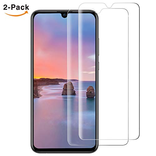 ONKING Panzerglas Schutzfolie kompatibel für Huawei P Smart 2019 Folie, AGC Glas 9H Glasfolie HD Bildschirmschutzfolie, Blasenfreie, Anti-Kratzen, 2,5D
