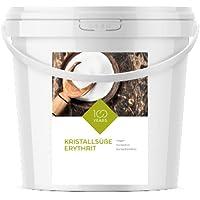 100years - Erythrit 5000g (5 kg) - Erythritol - kalorienfreie Zuckeralternative - Diabetiker geeignet - Vegan