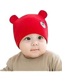 DORRISO Moda Linda Gorro Bebe Niño Niña Primavera Otoño Invierno Calentar  Sombrero ... fe0ae0f18e2