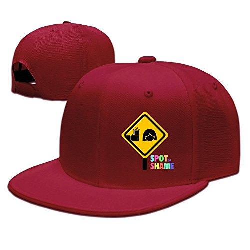 mensuk-anheuser-busch-logo-hat-plain-baseball-cap-red