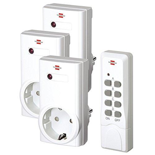 Preisvergleich Produktbild vidaXL Untranslated – 400615 brennenstul Wireless Socket Set Remote Control RCS 1000 N (and NL-Only)