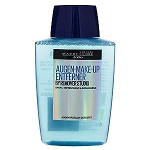 Maybelline Augen Make-up Entferner, entfernt Augen Make-up schnell und schonend, erfrischt die Augenpartie, augenärztlich getestet, 125 ml