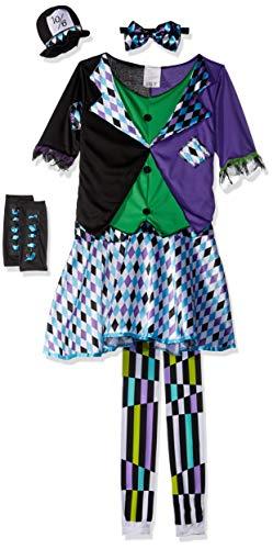 Mad Hatter Girls Fancy Dress Book Day Wonderland -