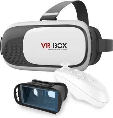 SHOP TODAY VR BOX FOR ALL OPPO Smartphone With Bluetooth Wireless Remote Controller.