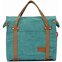 Sechunk Messenger Bag in pelle di cotone Canvas Shoulder Bag