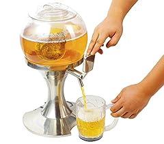 Idea Regalo - Dispenser per bevande gassate e alla spina 3,5 litri con vano ghiaccio indipendente con erogatore. MWS