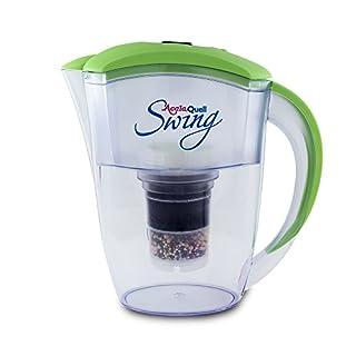 Wasserfilter AcalaQuell® Swing | Hellgrün | Kannenfilter mit höchster Filterleistung | Mehrschichtige Filterkartusche | PI-Technology | Kreiert köstlich schmeckendes, wohltuendes Wasser