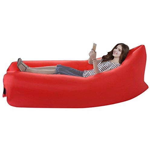 lazy-lettino-gonfiabile-aria-letto-divano-lay-sacco-da-campeggio-spiaggia-bean-bag-rosso