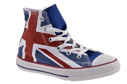 Alta Sneakers Tela Uk Multicolore Flag Converse qfS8rCwqx