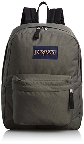 JanSport Rucksack Superbreak, forge grey, 42x33x21, 25 liters, T501 (Herren Rucksack Jansport)
