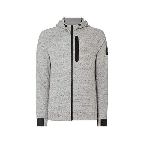 O'Neill Herren HM 2-FACE HYBRID Fleece Sweatshirts, Grau, L -