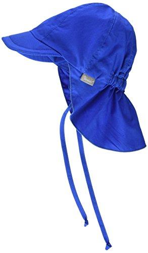 Sterntaler Unisex Schirmmütze mit Nackenschutz und Bindebändern, Alter: 12-18...