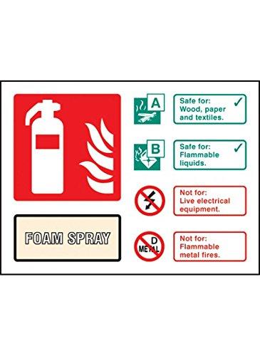 caledonia-signos-aerosol-extintor-de-espuma-11234d-senal-de-identificacion-plastico-rigido-d-150-mm-