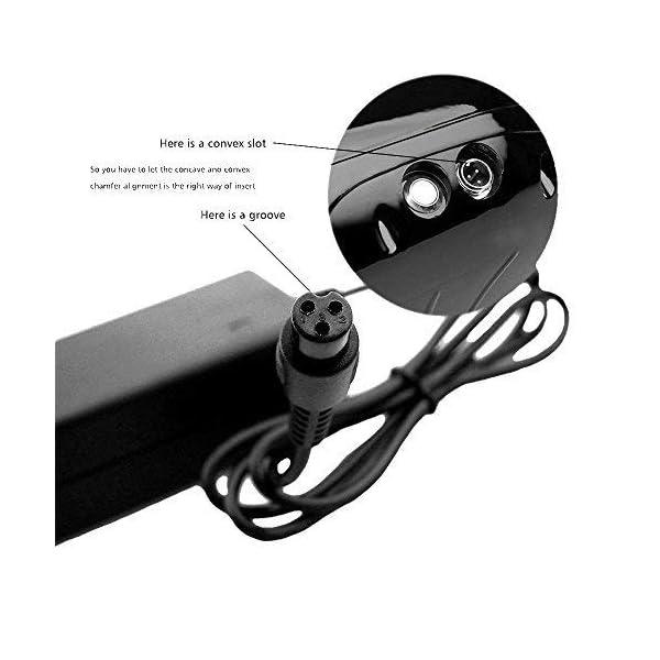41YqcD2I%2BBL. SS600  - kuyal 42V 2A Akku Ladegerät für zwei Rollen Mini Smart Elektro Scooter Bluewheel, selbst Balancing Einrad Skateboard Netzteil Adapter zum Aufladen 36V Lithium-Ionen Akku Pack