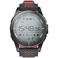 DoMoment Reloj Digital Deportivo para Hombre, Reloj Inteligente para Deportes al Aire Libre, Reloj Inteligente para cronómetro F3 Fitness Tracker para Android, iOS