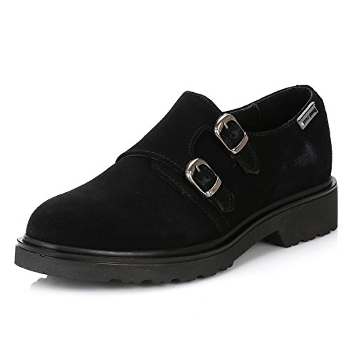 4ever young Femmes Hidra Suède Chaussures Noir