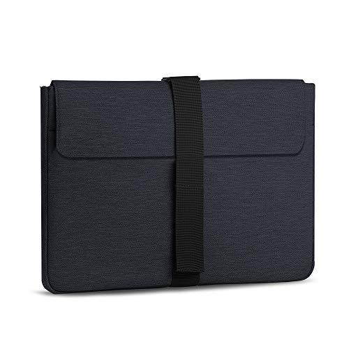 AtailorBird Laptophülle, Laptoptasche 13-14 Zoll Ultrabook Notebook Handtasche Schutzhülle stoßfest Notebooktasche Laptop Schutztasche(Schwarz)