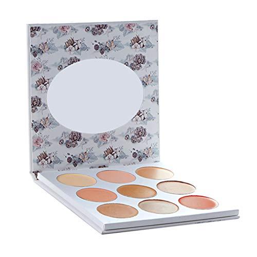 Sharplace Ensemble De 9 Couleurs Correcteur De Maquillage Anti-cerne Crème Correcteur Cosmétique de Camouflage de Professionnelle