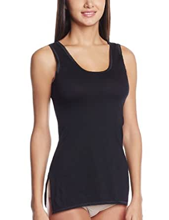 Floret Women's Cotton Camisole (1416-BLACK-S)