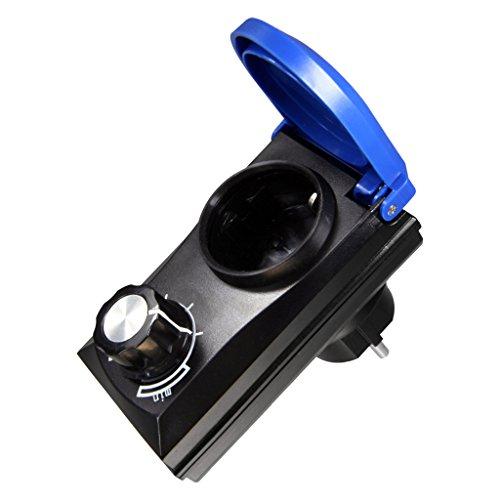 Leistungsregler, Drehzahlregler, für Teichpumpen bis max. 800 Watt (Ändern Motor)