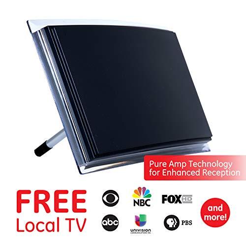 GE Amplified Indoor Antenne, VHF/UHF-HD TV, 12534Deko - -