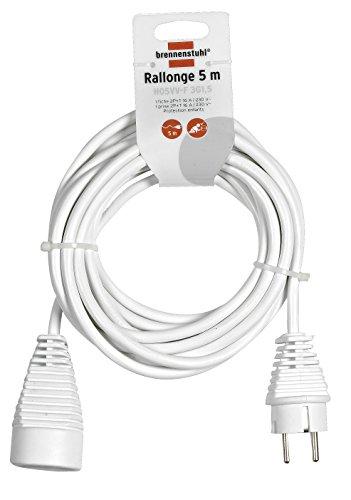 Brennenstuhl Alargadera de cable eléctrico 5 m