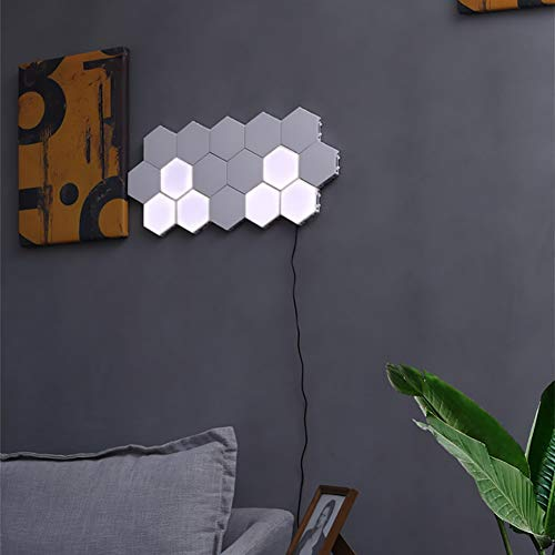 Modern LED Modul Wandlampe, Touch Sensitive Light Panels Wandleuchte, Innen- Dekoratives Wandlichter, 3W LED Wandbeleuchtung, Wohnzimmer Schlafzimmer Treppenhaus Flur Wall Light,16packs -