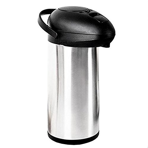 Oypla 5L Stainless Steel Airpot Insulated Vacuum Thermal, used for sale  Delivered anywhere in UK