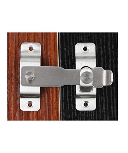 Cerradura de puerta resistente de acero inoxidable con pestillo abatib