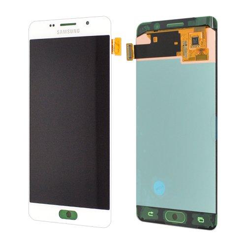 LCD Display Samsung A510F Galaxy A5 2016 Original full set white - LCD Display + Display Glas + Touchscreen + Elektronik