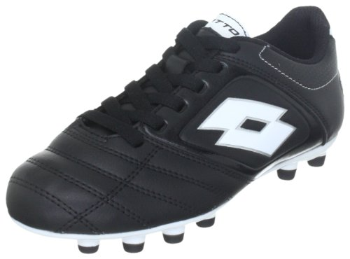 lotto-sport-stadio-potenza-500-fg-jr-sports-shoes-football-boys-black-schwarz-black-white-size-30