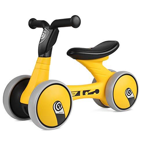 Bamny Draisienne Vélo Enfant Vélo sans Pédales pour 1~3 Ans, Guidon et Siège Réglables, Haute...