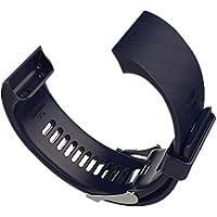 WEINISITE Armband für Garmin Forerunner 35,Doppelte Farbe Weiches Silikon Ersatzarmband für Garmin Forerunner 35 Running Watch
