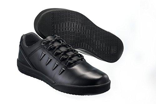 SanitaSan-Chef Lace Shoe-S2 - Scarpe Antinfortunistiche Unisex – Adulto Nero (Nero (nero))