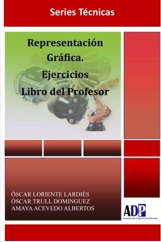 Portada del libro Representación Gráfica. Ejercicios. Libro del Profesor