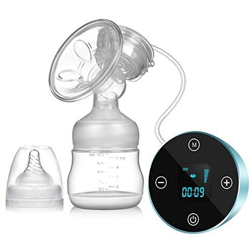 saca leche electrico,SUMGOTT Recargable Portátil Sacaleches eléctrico con pantalla táctil LCD inteligente