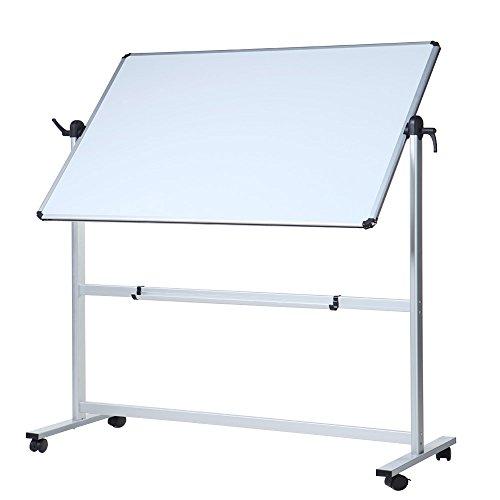 VIZ-PRO Mobile Whiteboard/Flipchart - magnetisch, Doppelseitige - 180 x 100 cm
