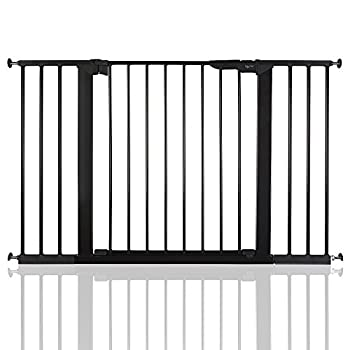 BabyDan Premier Bébé Barrière de Sécurité en pour Escalier Noir 112 - 119,3cm