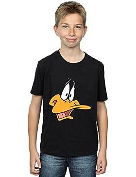 Looney Tunes Niños Daffy Duck Face Camiseta