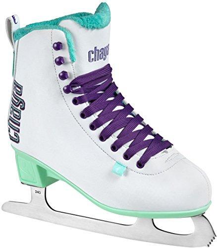 chaya Damen Classic White Schlittschuhe, Weiß, 39