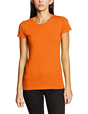 Fruit of the Loom Sofspun, T-Shirt Donna