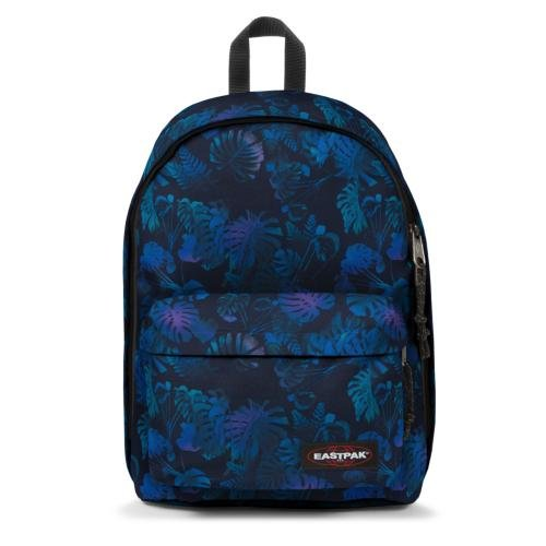 Eastpak Out of office Sac à dos - 27 L - Purple Jungle (Multicolore)