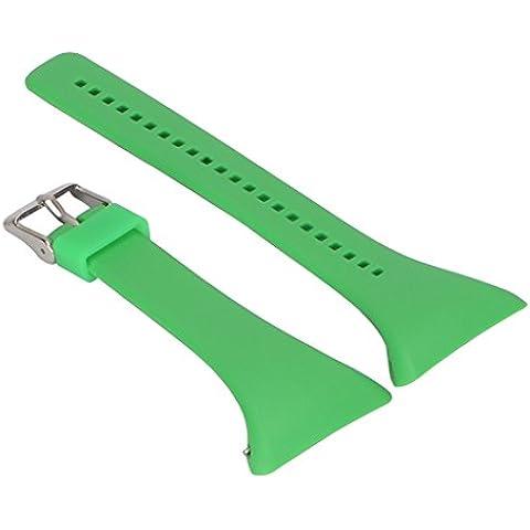 Reemplazo Correa de Reloj Pulsera de Silicona Banda para Polar FT4 FT7 FT Reloj - Verde