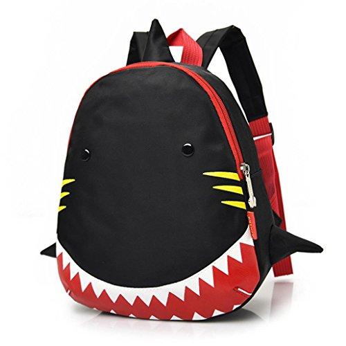 AMUSTER Sac à Dos Enfant pour à L' école Maternelle Garçon et Fille Cartable Unisexe Mignon Motif de Requin Sacs d'école Bébé Sac Scolaire pour Garderie Préscolaire Primaire Fille Garçon (A)