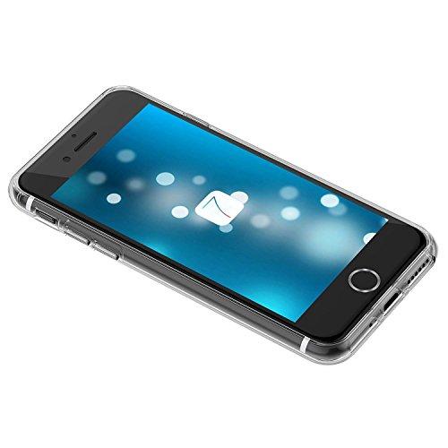 iPhone 7 Coque, FoneExpert® Très mince Etui Housse Coque Transparent TPU Gel Cover Case pour iPhone 7 (Color 9) Color 9